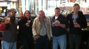 Visiting Willoughby Brewing Co.